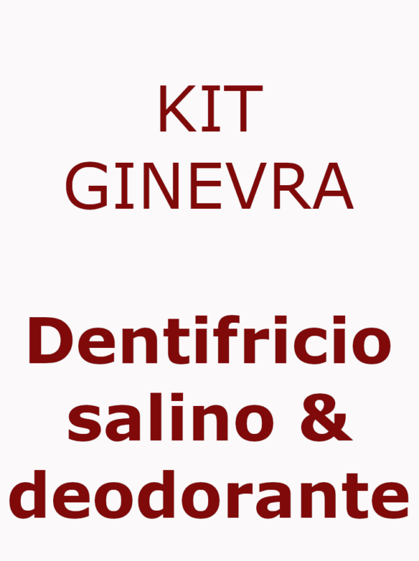 kit dentifiricio&deodorante